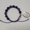 Браслет Агат фіолетовий 2429