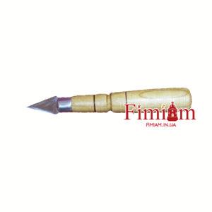 Копіє з дерев'яною ручкою 20 мм