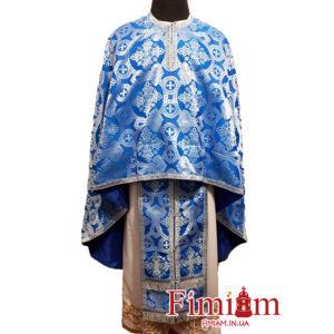 """Ризи ієрейські сині """"Корона"""""""
