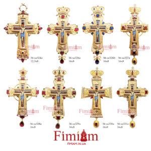 Хрести нагрудні бронзові №1
