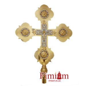 Хрест з рипідами 31-258