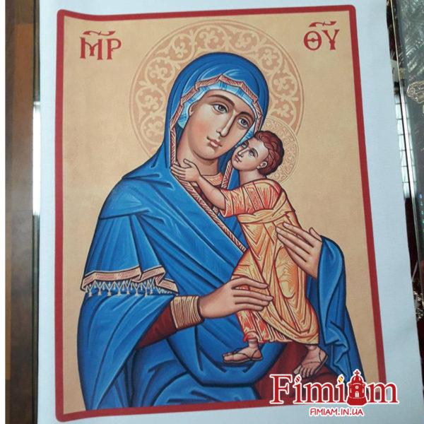 Ікона на полотні Богородиця №1
