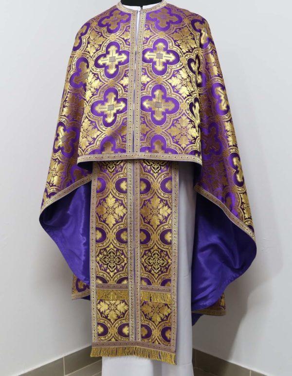 Ризи ієрейські фіолетові №12