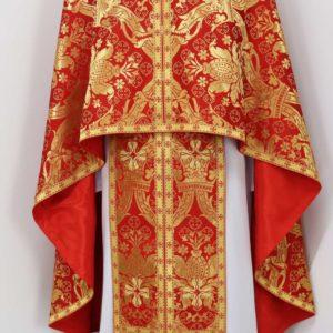 Ризи ієрейські червоні №10