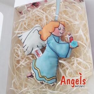 Ангелик зі свічкою великий