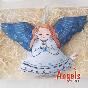 Ангелик блакитний великий