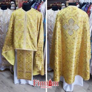 Ризи ієрейські жовті №24