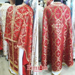 Ризи ієрейські червоні №22