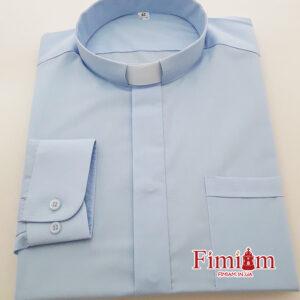 Сорочка під колорадку блакитна