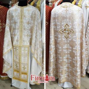 Ризи ієрейські біло-золотисті №27