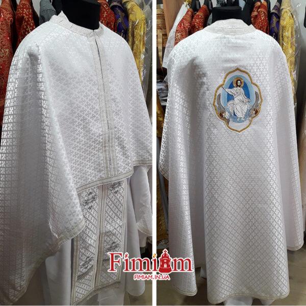 Ризи ієрейські білі №30