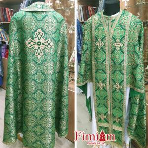 Ризи ієрейські зелені №31